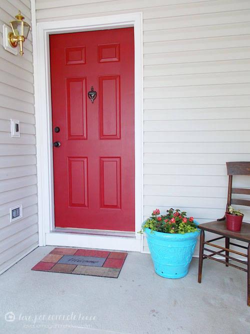 toutes les tapes pour peindre correctement une porte. Black Bedroom Furniture Sets. Home Design Ideas