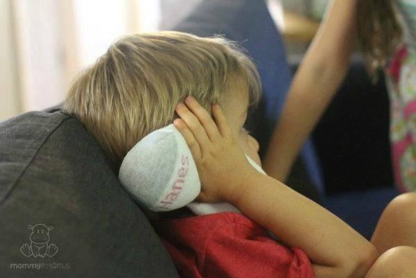 Chaussette apaisante contre les douleurs d 39 oreilles for Angine traitement maison