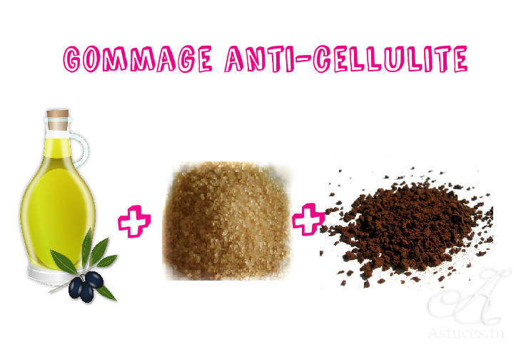 Gommage anti cellulite fait maison for Anti ride naturel fait maison