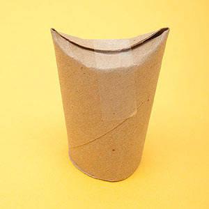 jolis hiboux partir de rouleaux de papier toilette guide astuces. Black Bedroom Furniture Sets. Home Design Ideas