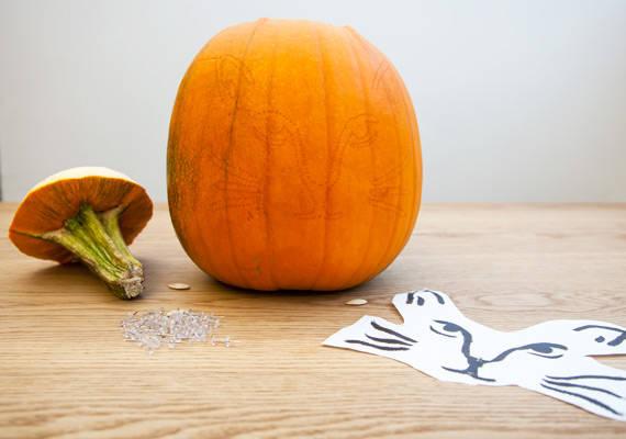 Sculpter des citrouilles pour halloween guide astuces - Citrouille effrayante ...
