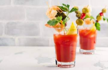 Recette Bloody Mary : cocktail vodka et jus de tomate