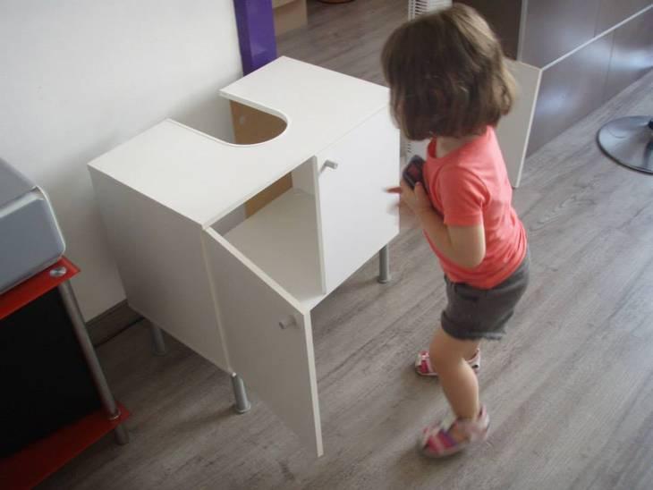 Cuisine pour enfant id e r cup guide astuces for Fabriquer cuisine enfant