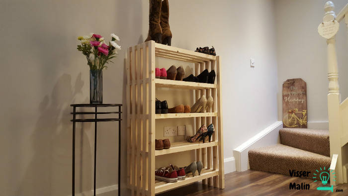 meuble chaussures diy guide astuces. Black Bedroom Furniture Sets. Home Design Ideas