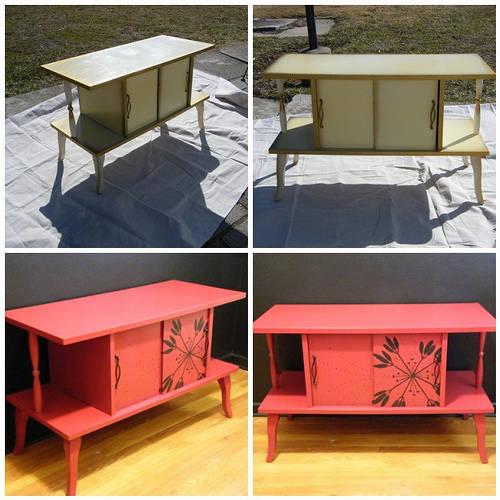 Id es pour relooker un vieux meuble en bois guide astuces - Relooker un vieux meuble ...