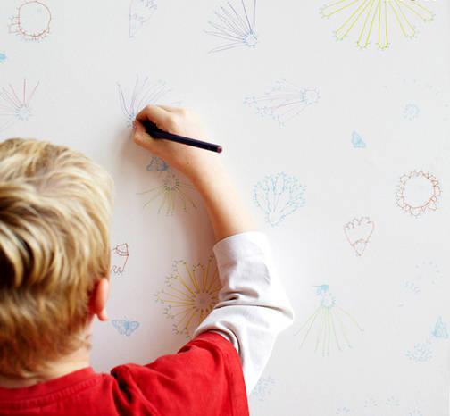 enlever les traces de crayon sur un mur guide astuces. Black Bedroom Furniture Sets. Home Design Ideas