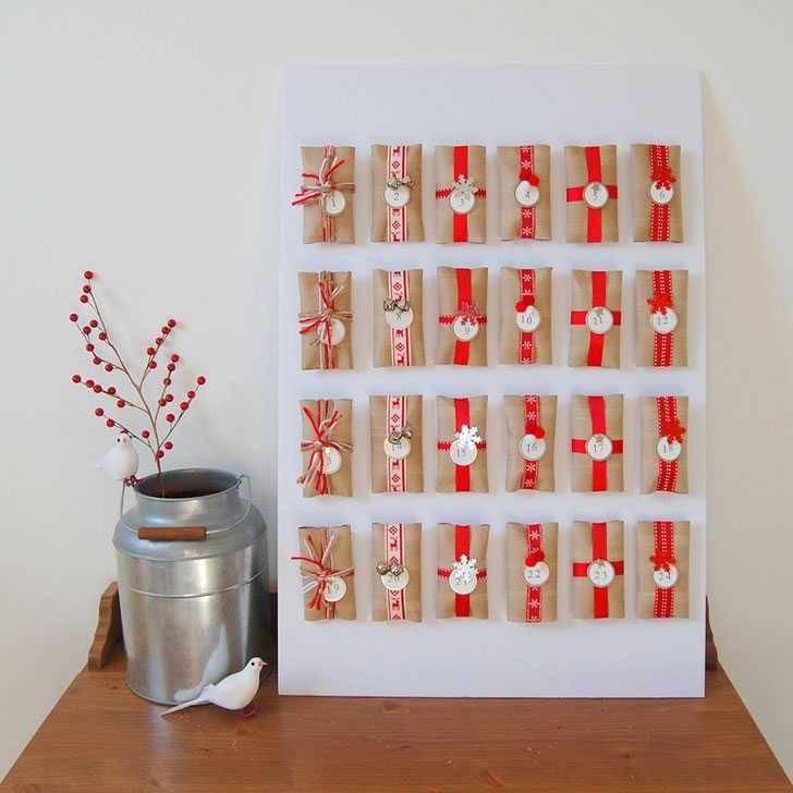 calendrier de l 39 avent en rouleaux de papier toilette guide astuces. Black Bedroom Furniture Sets. Home Design Ideas