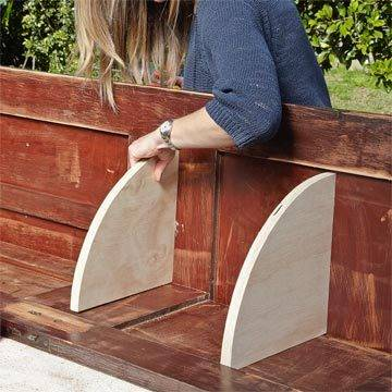 Transformation d 39 une porte en meuble d 39 angle guide astuces for Meuble d angle une porte