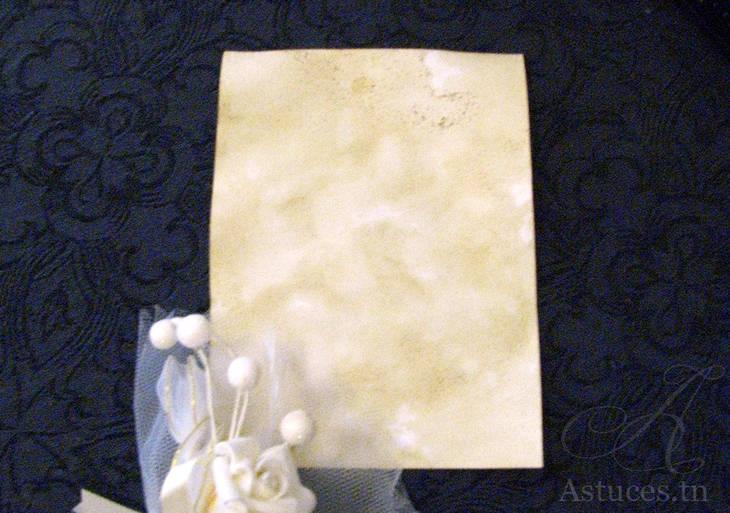 Donner au papier un effet vieilli guide astuces for Donner un effet vieilli a un meuble