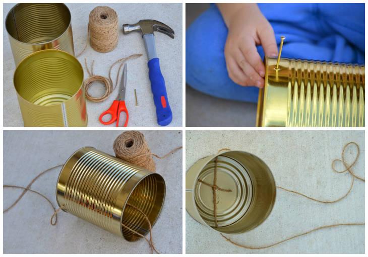 Chasses pour enfants avec des boites de conserve guide astuces - Cuisiner avec des boites de conserves ...