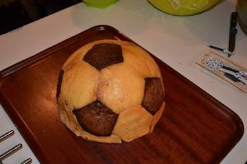 Gâteau Ballon de Football