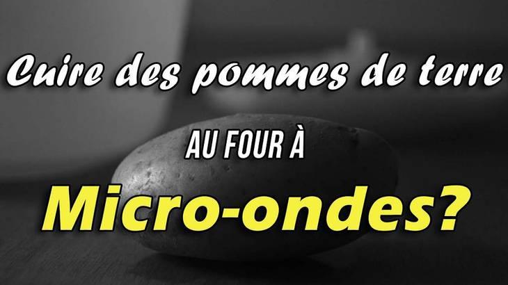 cuire ses pommes de terre au micro ondes guide astuces. Black Bedroom Furniture Sets. Home Design Ideas