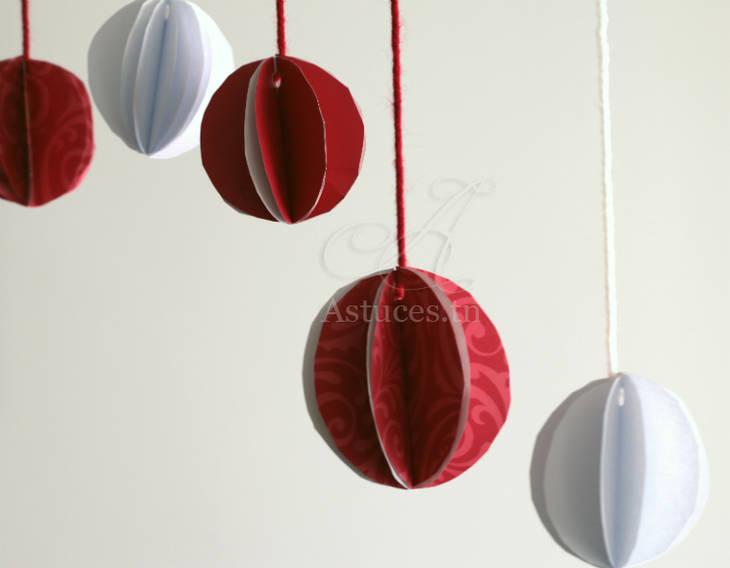 Boules d coratives en papier guide astuces for Boules decoratives jardin