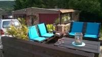 cabane enfants en bois de palettes guide astuces. Black Bedroom Furniture Sets. Home Design Ideas