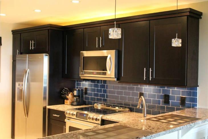 Viter de nettoyer le dessus des meubles dans la cuisine for Nettoyer meuble cuisine