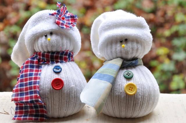 Bonhommes De Neige Avec Des Chaussettes Guide Astuces