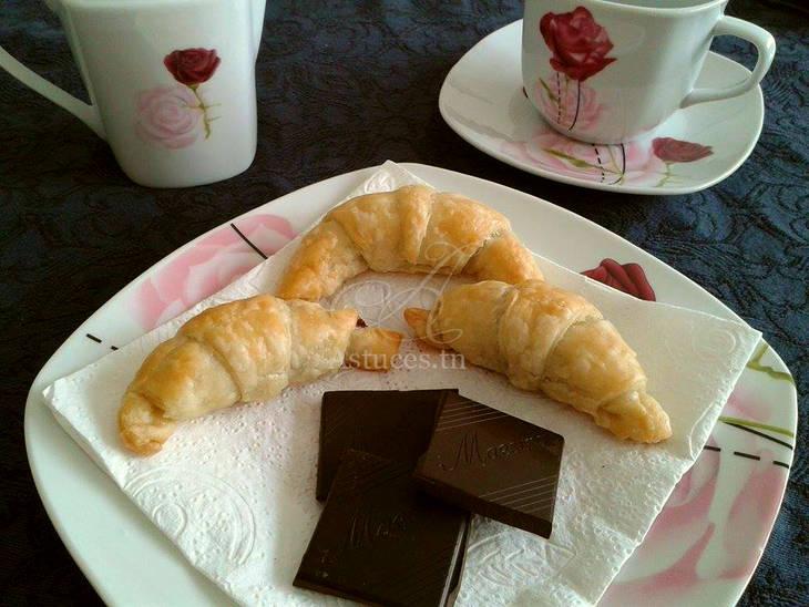 mini croissants au nutella guide astuces. Black Bedroom Furniture Sets. Home Design Ideas