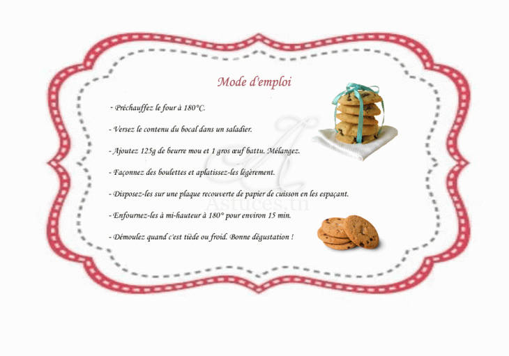 Beliebt Kit SOS Cookies - un cadeau gourmand - Guide Astuces QX54