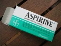 Anti-tache à base d'Aspirine