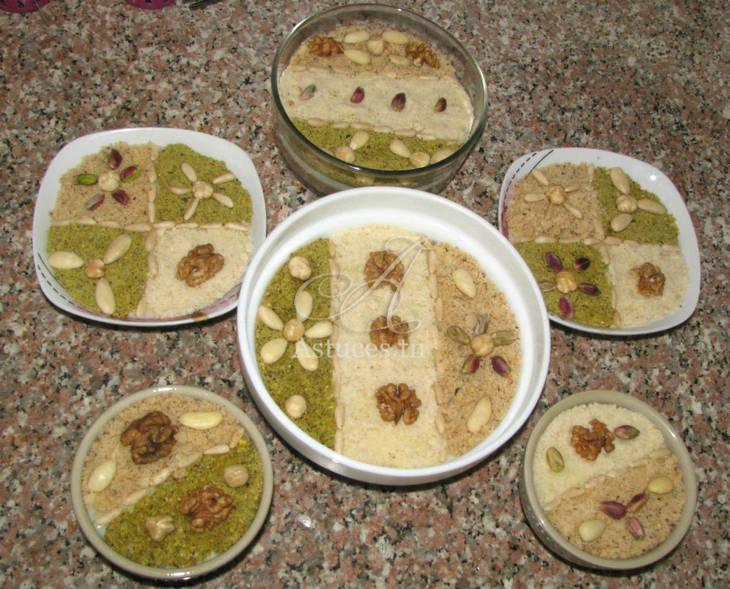 Crème de pignons d\u0027Alep ou Assida Zgougou , Guide Astuces