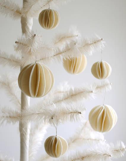 Boules d coratives en feutrine for Boules decoratives jardin