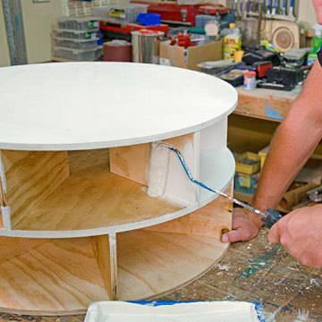 Meuble chaussures tournant guide astuces - Comment fabriquer un meuble a chaussure ...