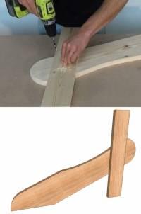 Comment fabriquer une chaise de jardin guide astuces - Comment fabriquer une chaise en bois ...