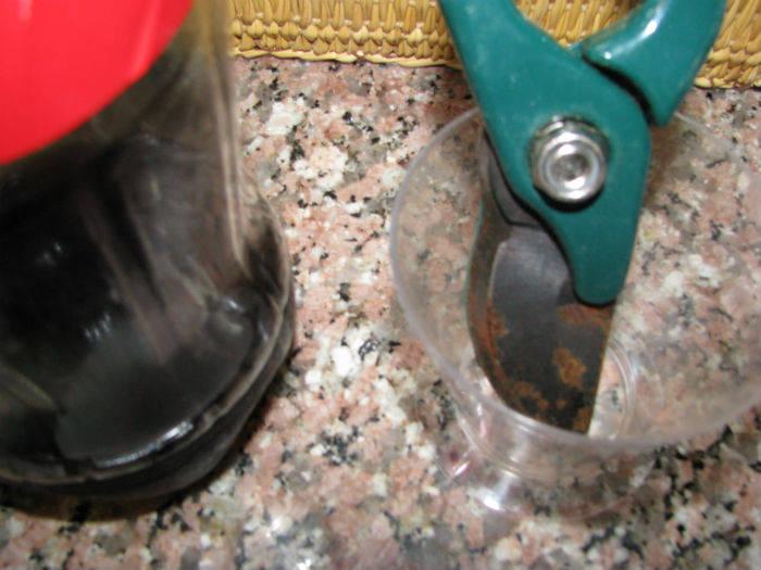 Enlever la rouille des outils en m tal guide astuces for Astuce pour enlever la rouille