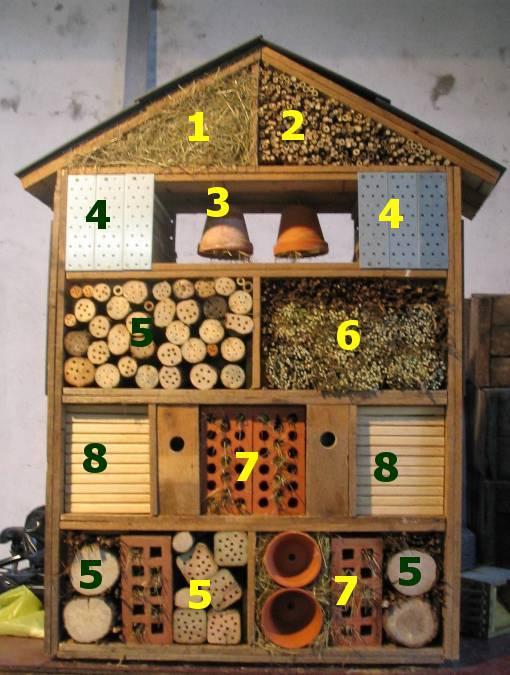 fabriquer un h tel insectes guide astuces. Black Bedroom Furniture Sets. Home Design Ideas