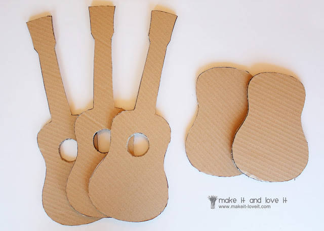 Turbo Guitare en carton - Guide Astuces BN92