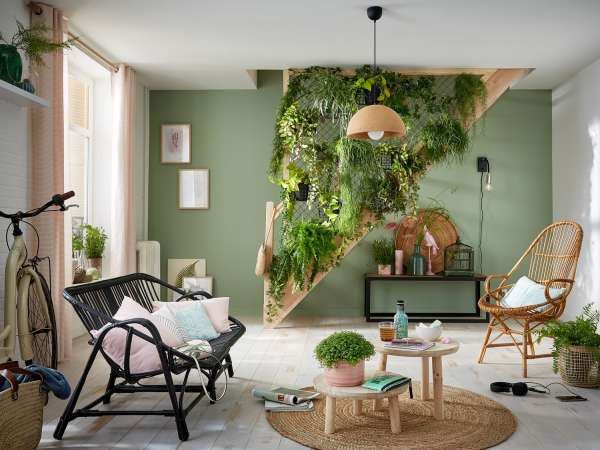 Transformer la montée d'escalier en un véritable jardin suspendu