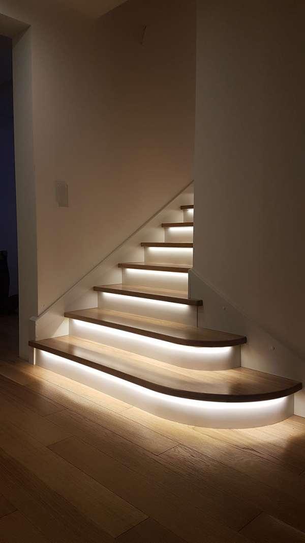 Mettre en lumière votre escalier
