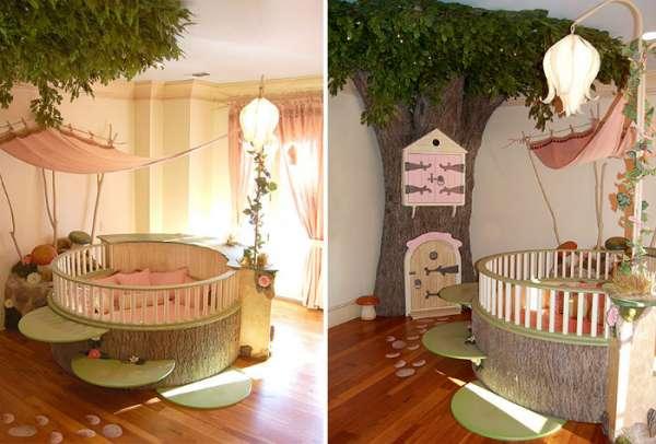 Une chambre de bébé parfaite pour une petite fée