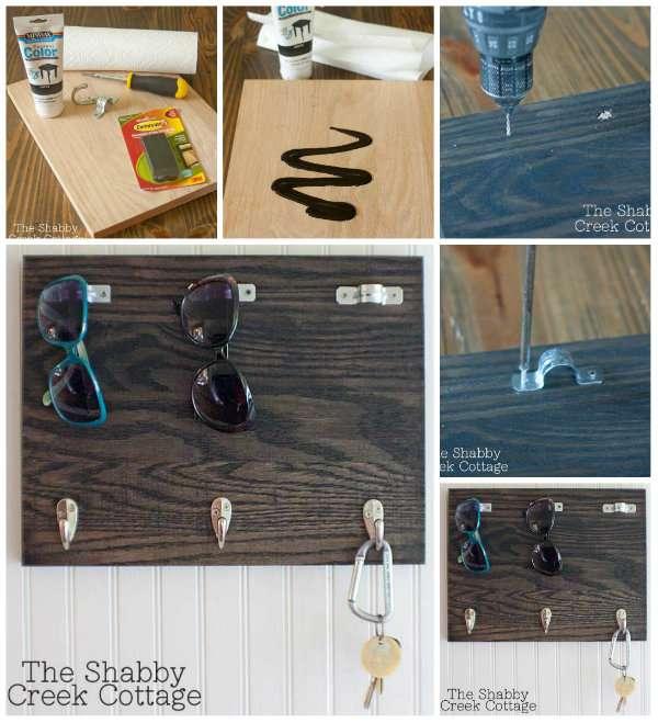 17 fa ons innovantes de ranger votre maison avec des crochets guide astuces. Black Bedroom Furniture Sets. Home Design Ideas