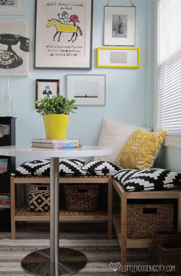 19 id es pour gagner de l 39 espace partout dans la maison guide astuces. Black Bedroom Furniture Sets. Home Design Ideas