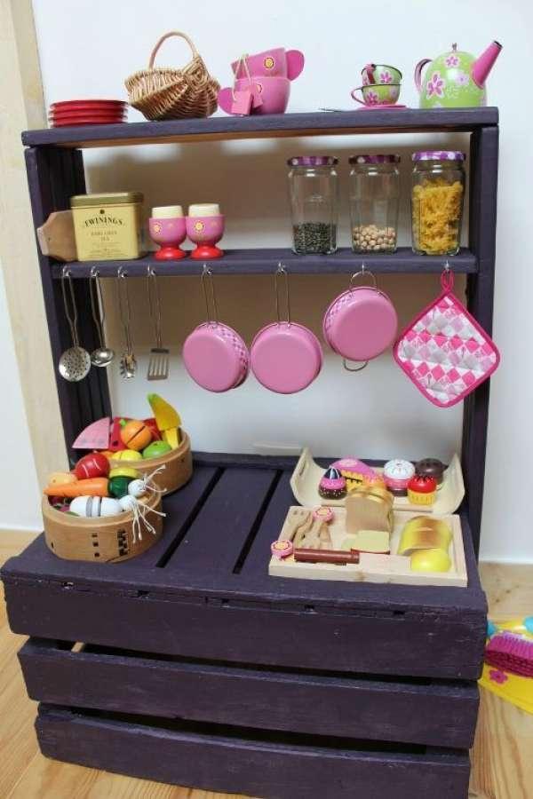 Superbes Cuisines Pour Enfants à Fabriquer Soimême Guide Astuces - Fabriquer cuisine enfant