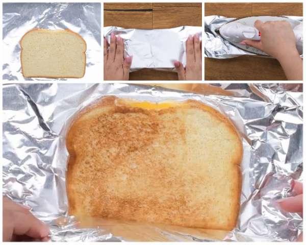 Griller les sandwichs