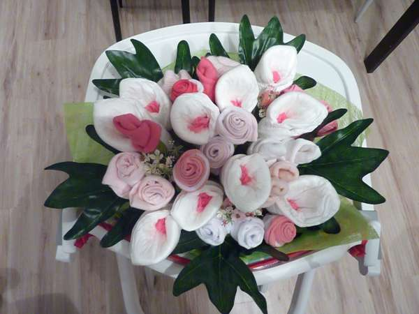Le bouquet de layette