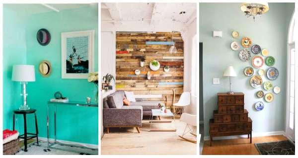 15 id es diy pour donner du peps vos murs guide astuces. Black Bedroom Furniture Sets. Home Design Ideas