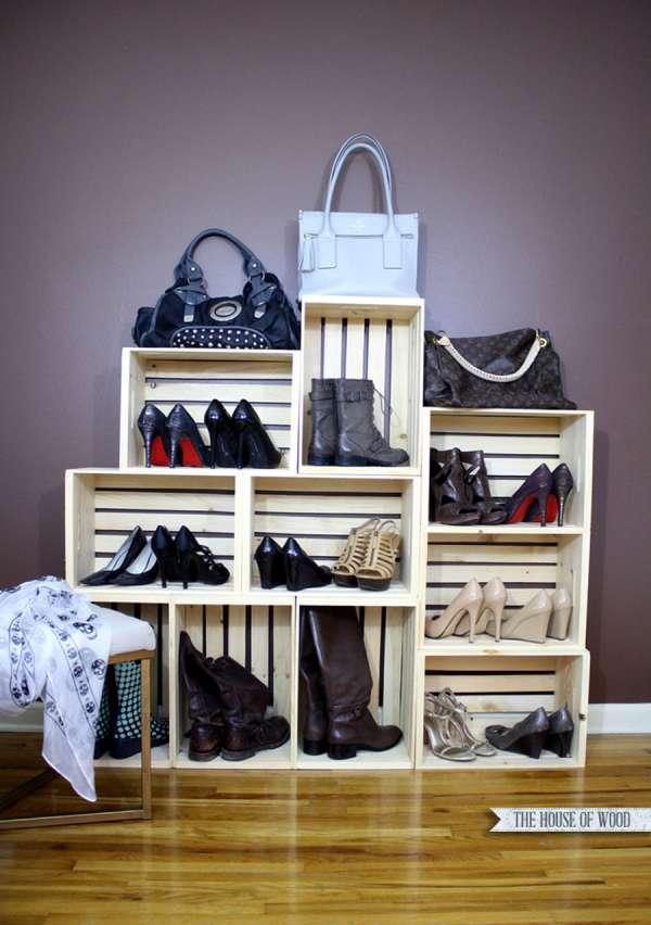 14 id es astucieuses pour ranger ses chaussures guide - Astuce pour ranger les chaussures ...