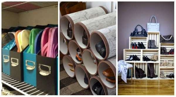 14 id es astucieuses pour ranger ses chaussures guide astuces. Black Bedroom Furniture Sets. Home Design Ideas