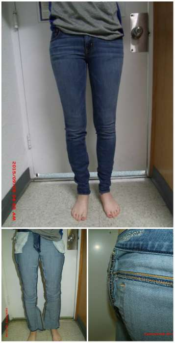 Comment ajuster un jean trop grand