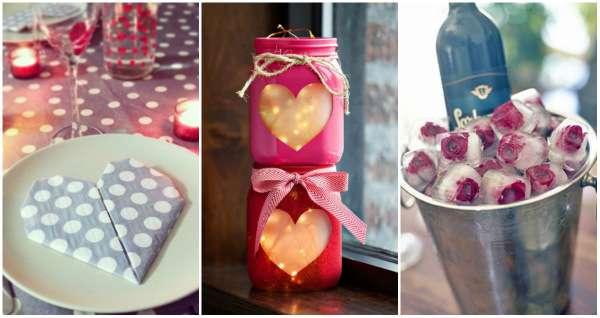 19 d corations diy pour une saint valentin romantique sans se ruiner guide astuces - Table jardin sans entretien saint paul ...