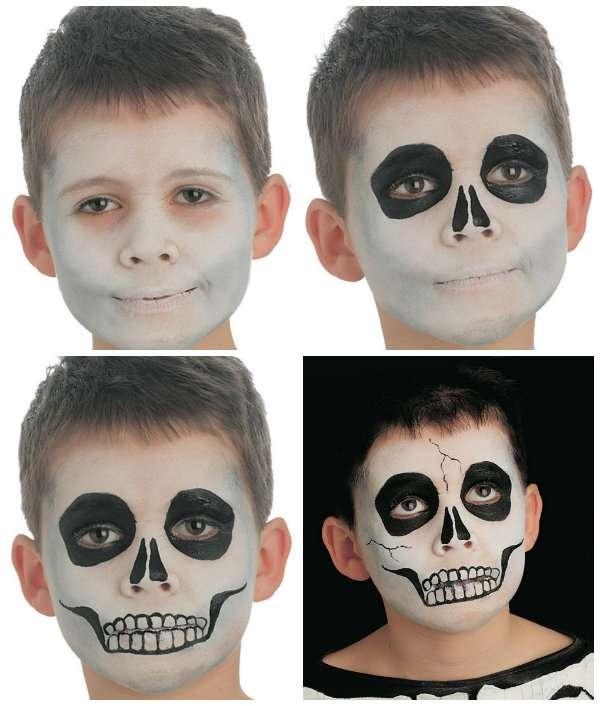 18 id es de maquillages rigolos pour enfants guide astuces. Black Bedroom Furniture Sets. Home Design Ideas