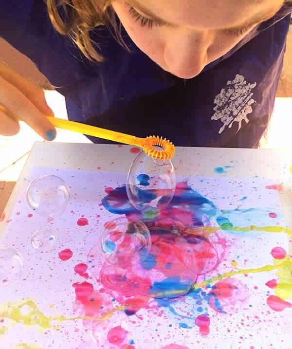 15 Techniques Et Astuces De Peinture Que Vous Allez Adorer Tester Avec Vos Enfants Guide Astuces