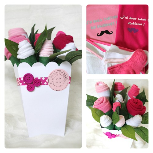 Bouquet de layette