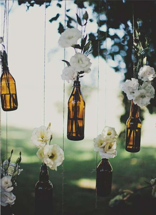 Un joli décor rustique pour un mariage