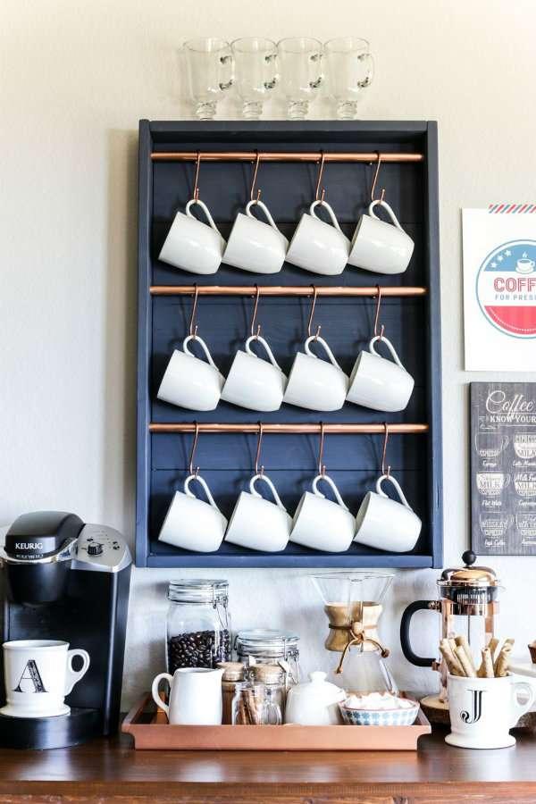 12 Idees Pour Un Coin Cafe Sympa Dans Votre Cuisine Guide Astuces