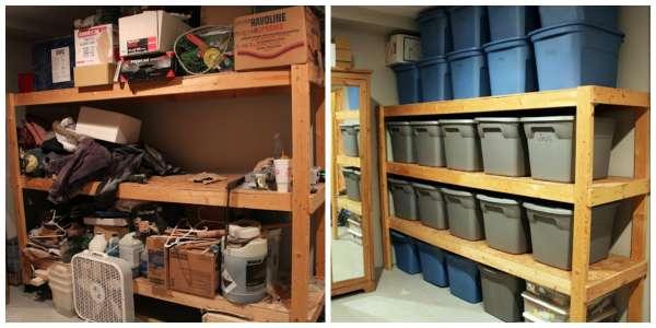 14 id es de rangements pratiques pour un garage impec. Black Bedroom Furniture Sets. Home Design Ideas