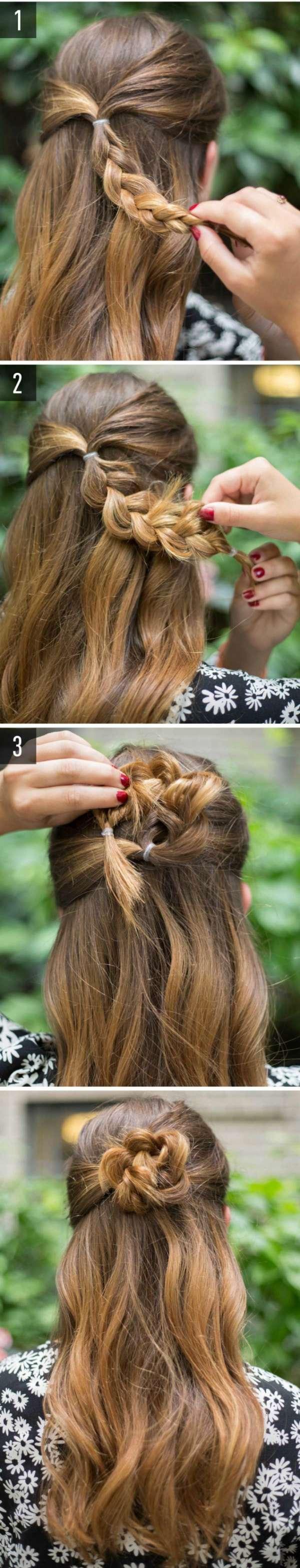 Extraordinaire 14 tutos de coiffures de mariage faciles à faire soi-même - Guide AR-18